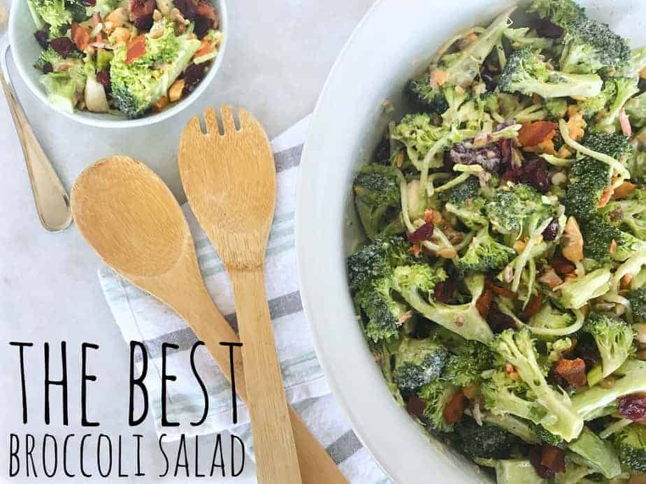 broccoli salad with title