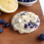 Blueberry Lemon White Chocolate Cookies