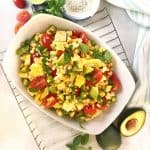 Corn, Tomato & Avocado Salad