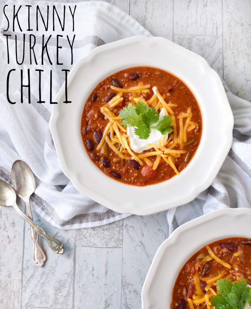 Try our Skinny Turkey Chili recipe