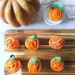 Halloween Cupcakes - Pumpkins
