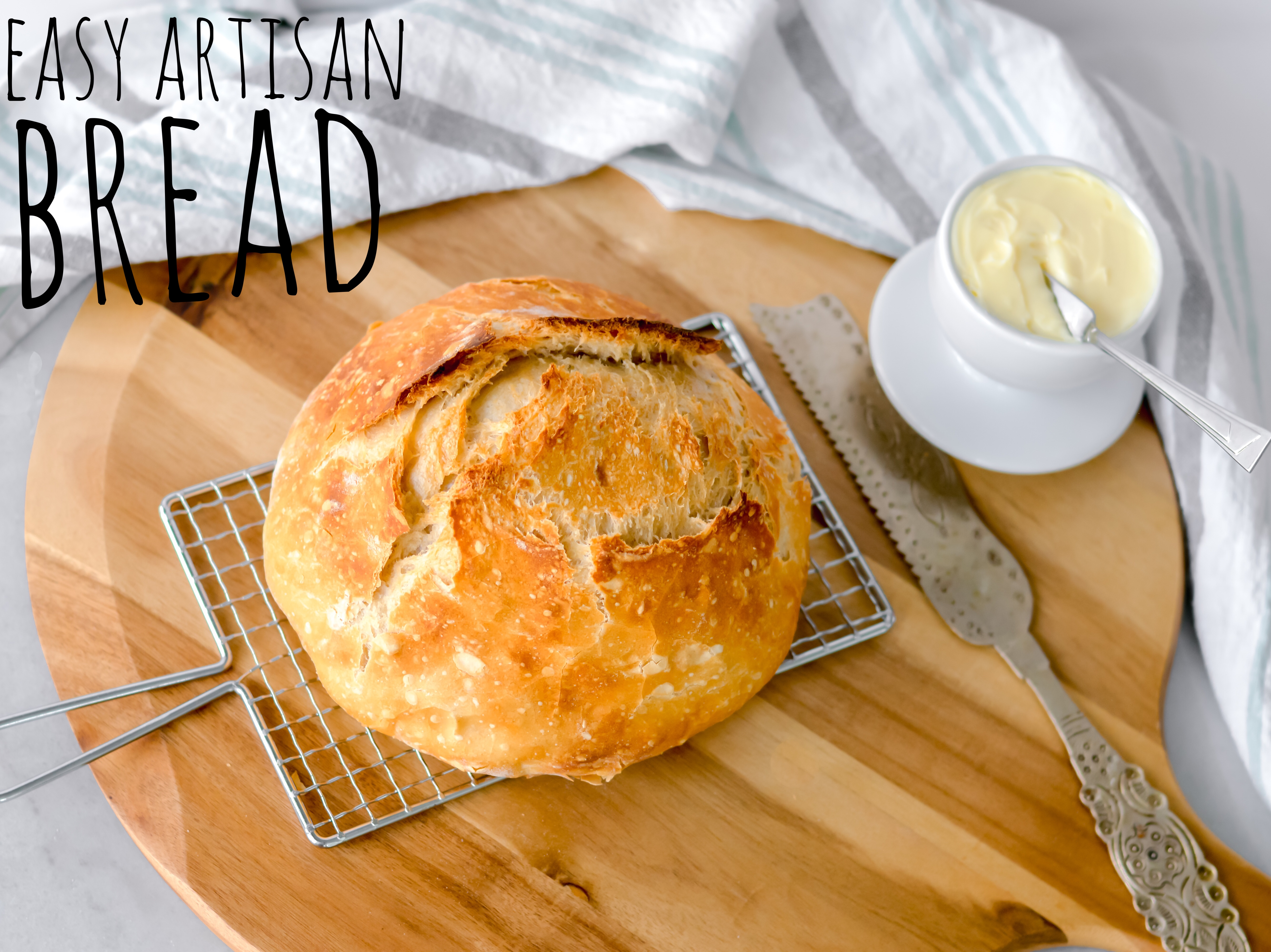 Try our Easy Artisan Bread Recipe
