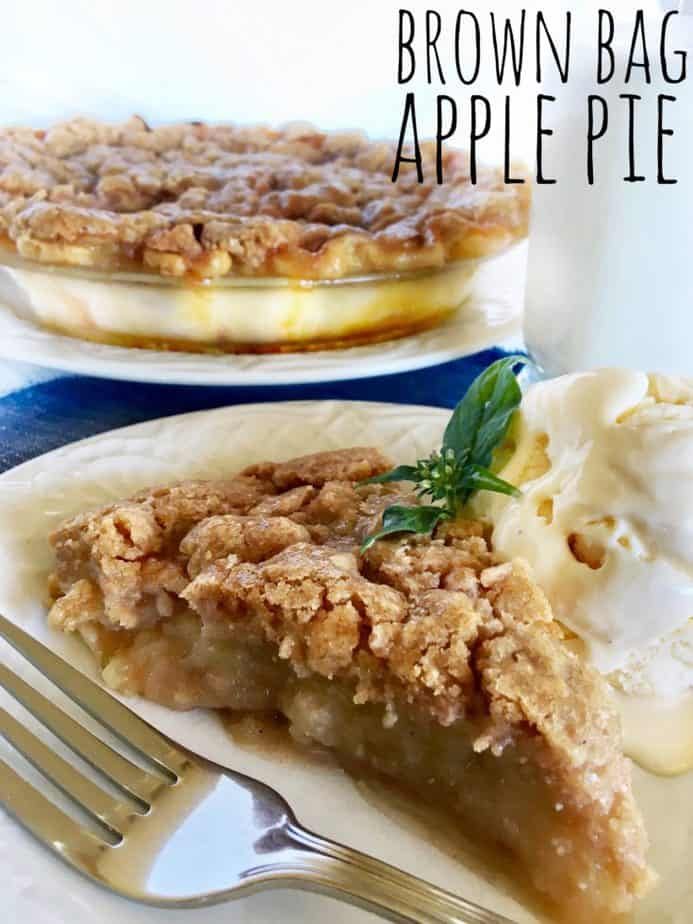 try our Brown Bag Apple Pie
