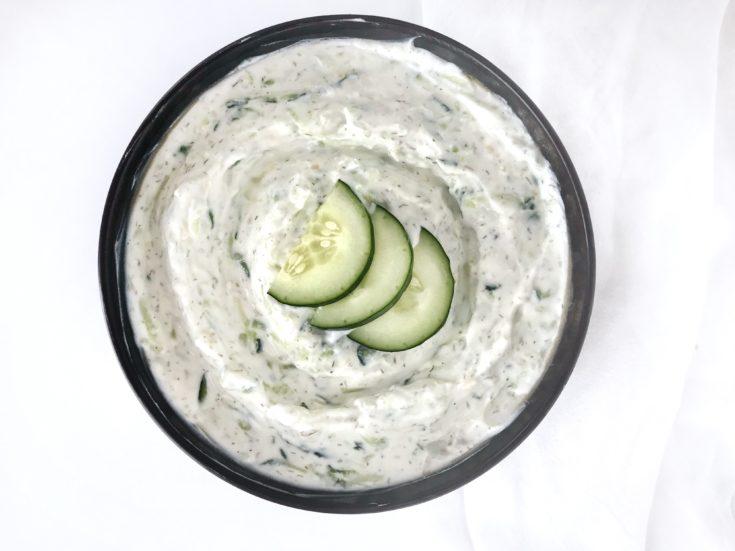 Tzaziki (Cucumber Yogurt Sauce)