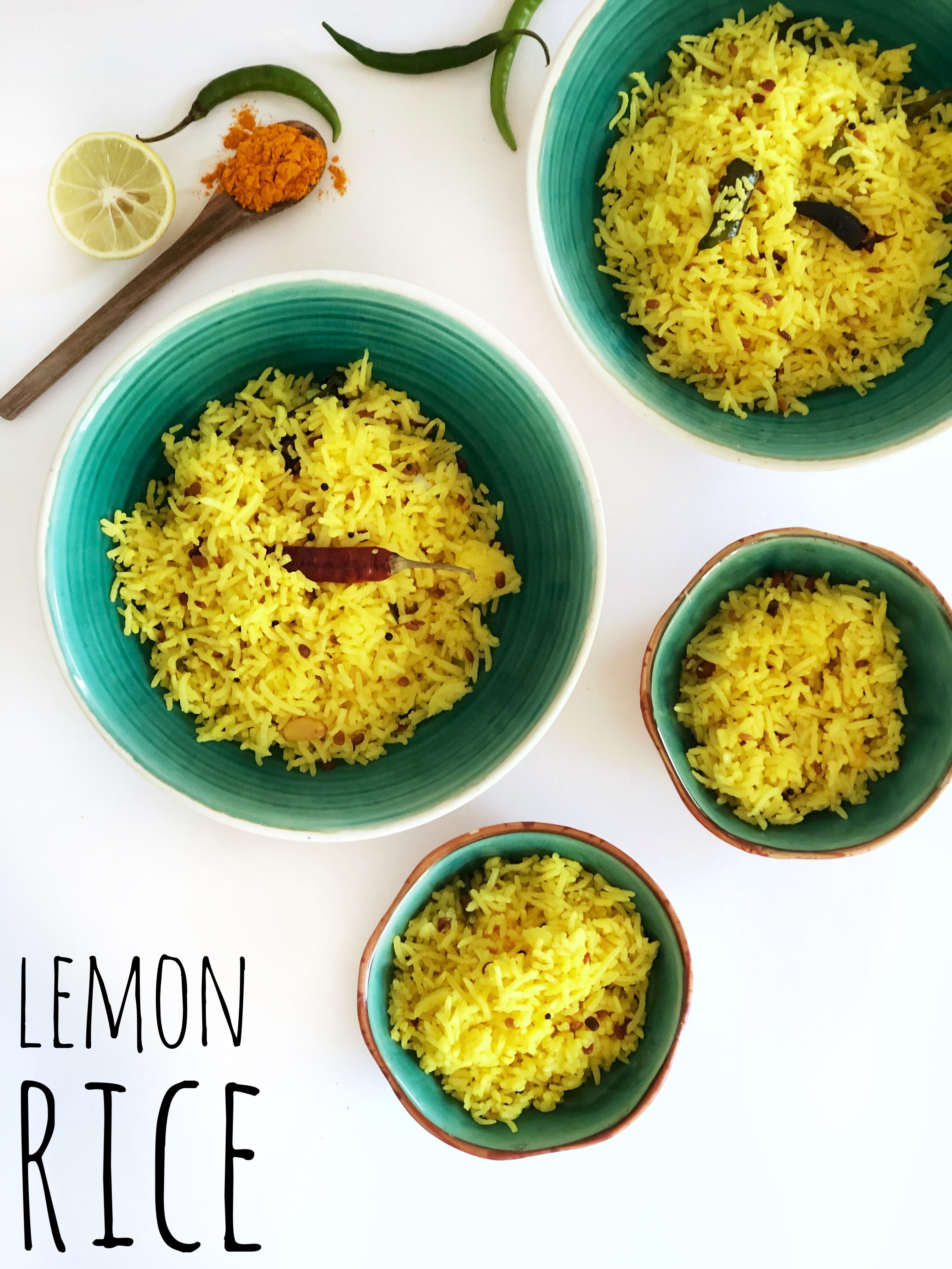 Flora's Indian Lemon Rice