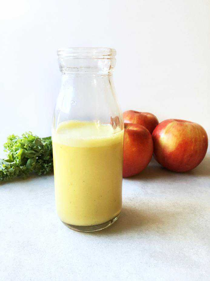 fuji apple salad dressing in jar