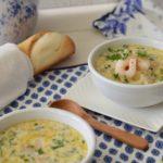 Shrimp and Artichoke Bisque