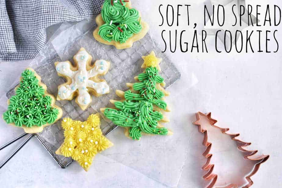Soft, No Spread Sugar Cookies
