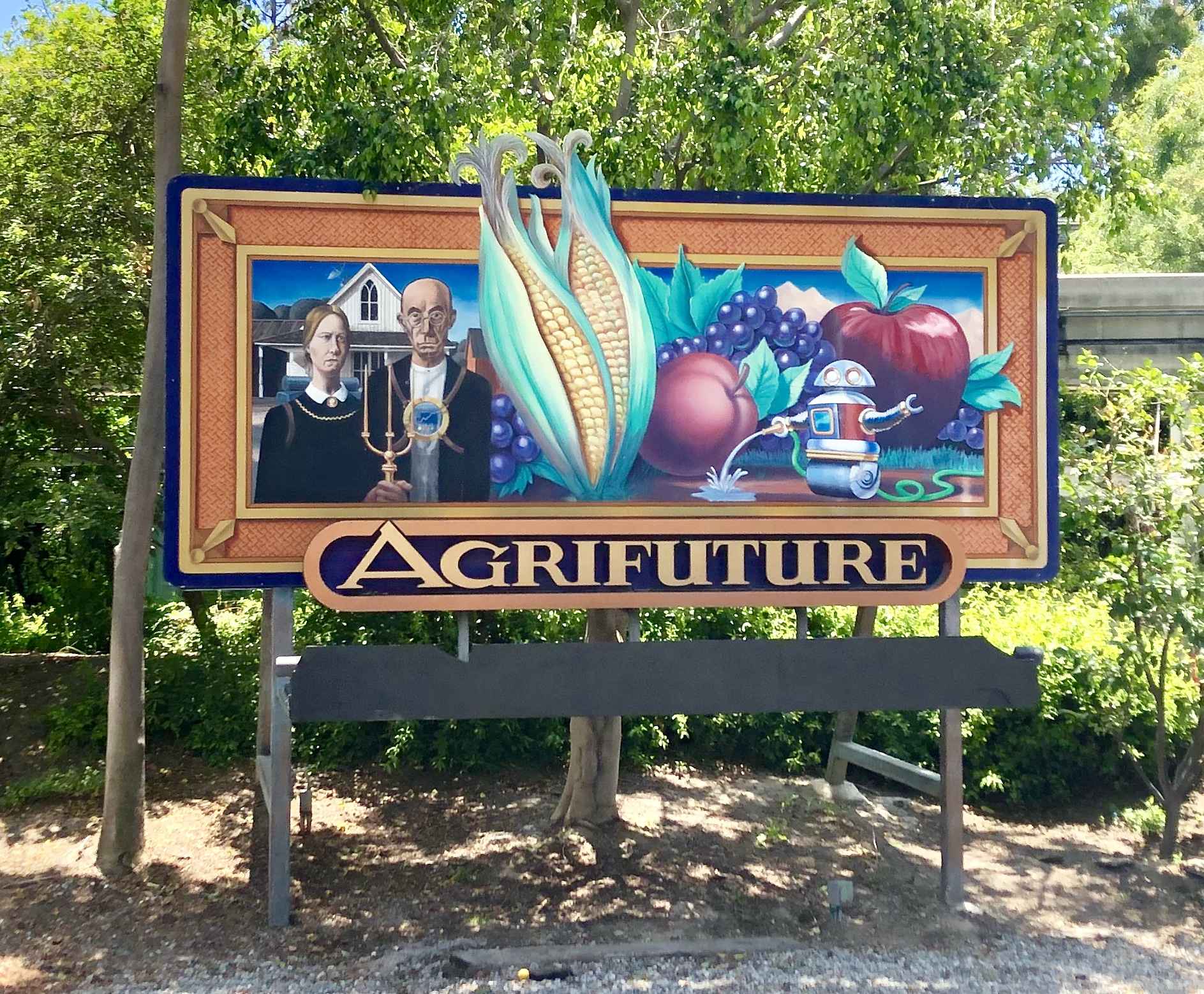 Agrifuture sign at Disneyland: Discover 5 secrets of Tomorrowland