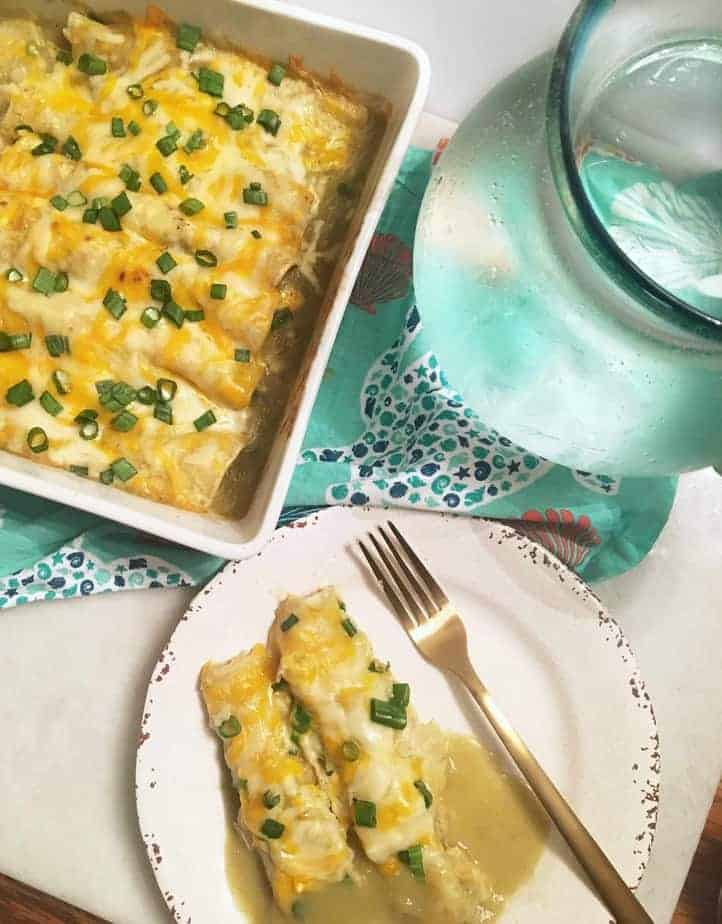 Green Chile Enchiladas.title.