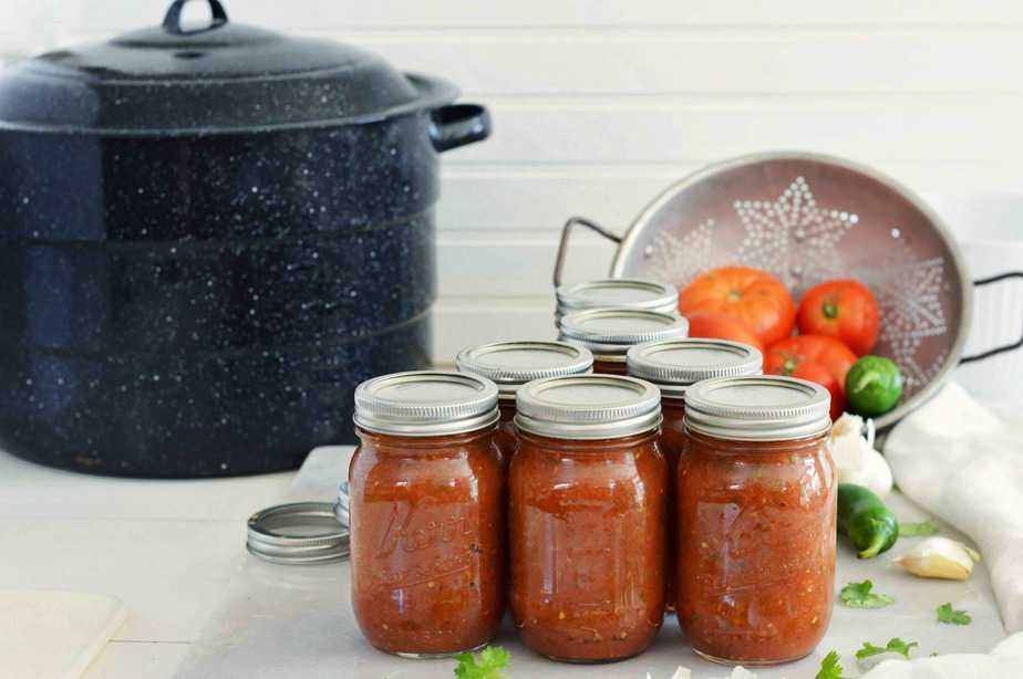 Homemade Salsa. How to Can it. Title