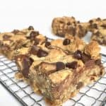 Candy Loaded Oatmeal Cookie Bars