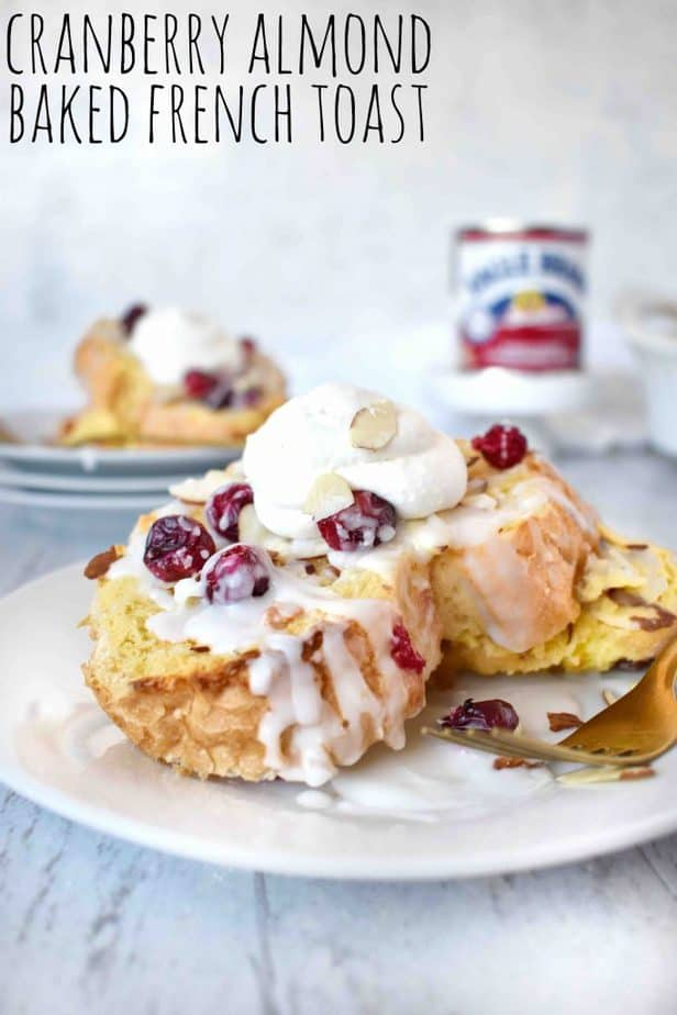 Cranberry Almond Overnight French Toast