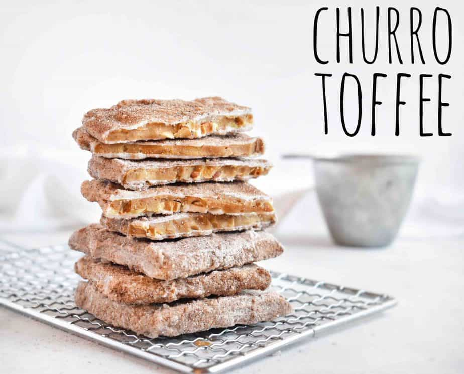 Try our Disneyland copycate recipe for Churro Toffee