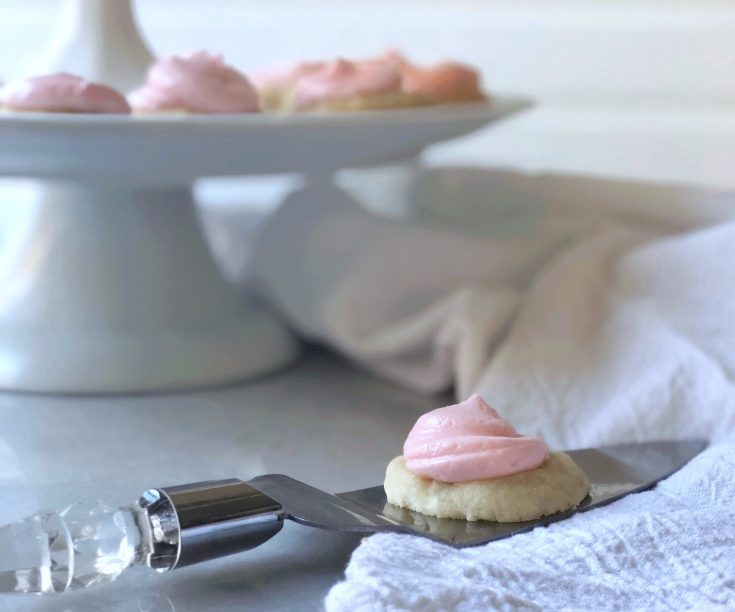 Pressed Almond Sugar Cookies