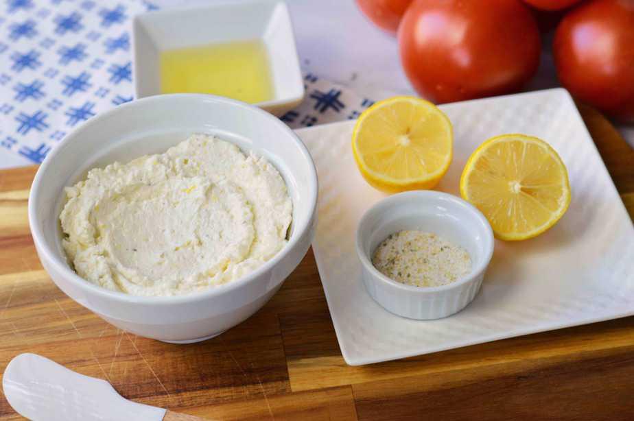 whipped feta for bruschetta recipe