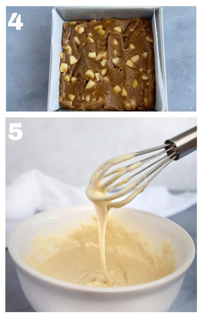 2 images showing step by step how to make this recipe.