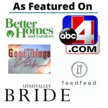 as featured on, displaying where in fine taste has been featured.